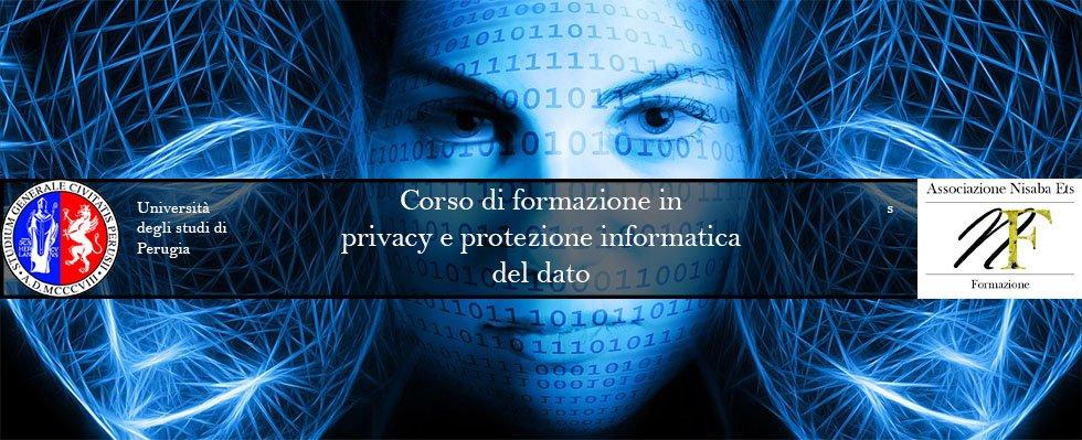 Corso Privacy e Protezione Informatica del Dato